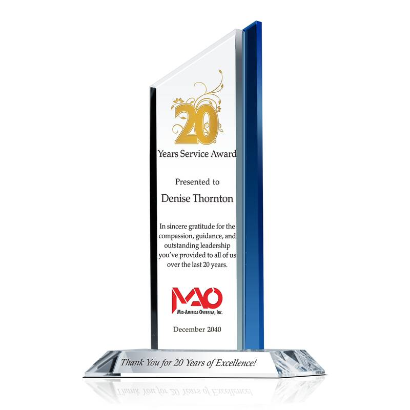 20th Anniversary Award of Excellence