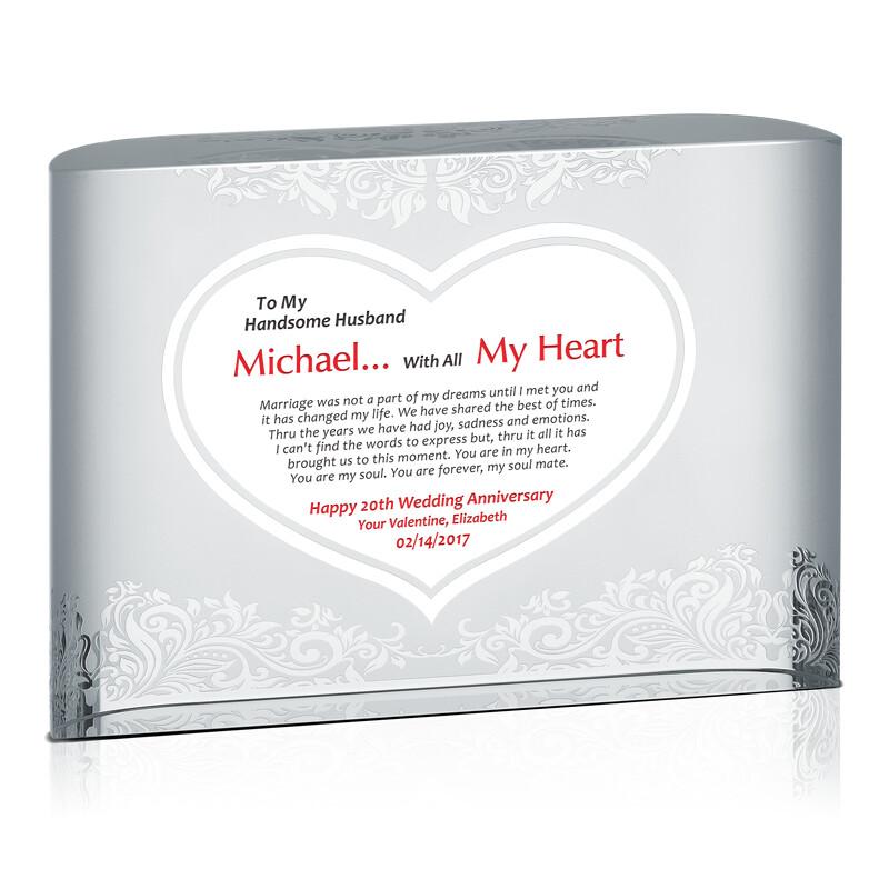 Valentine's Day Anniversary Gift For Husband