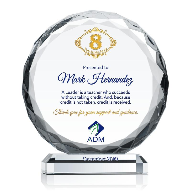 Leadership Service Recognition Award