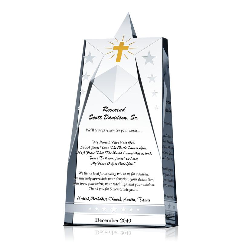 Star Pastor Appreciation Gift