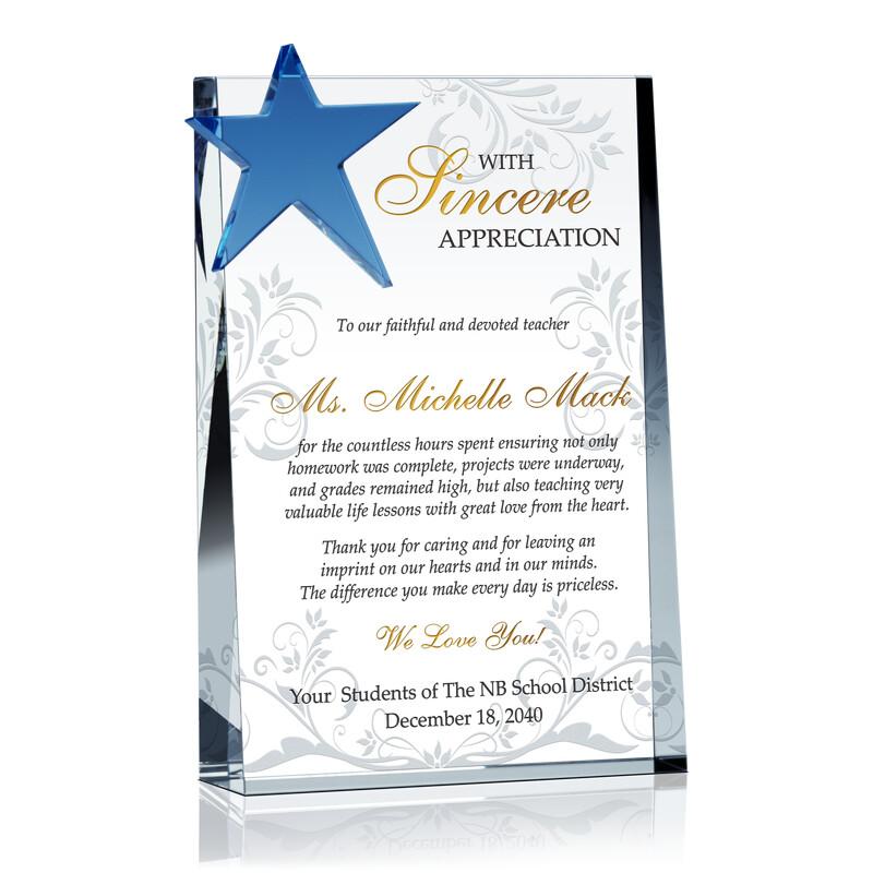 Appreciation Gift for Devoted Teacher