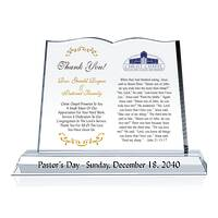 Pastor's Day Gift Plaque