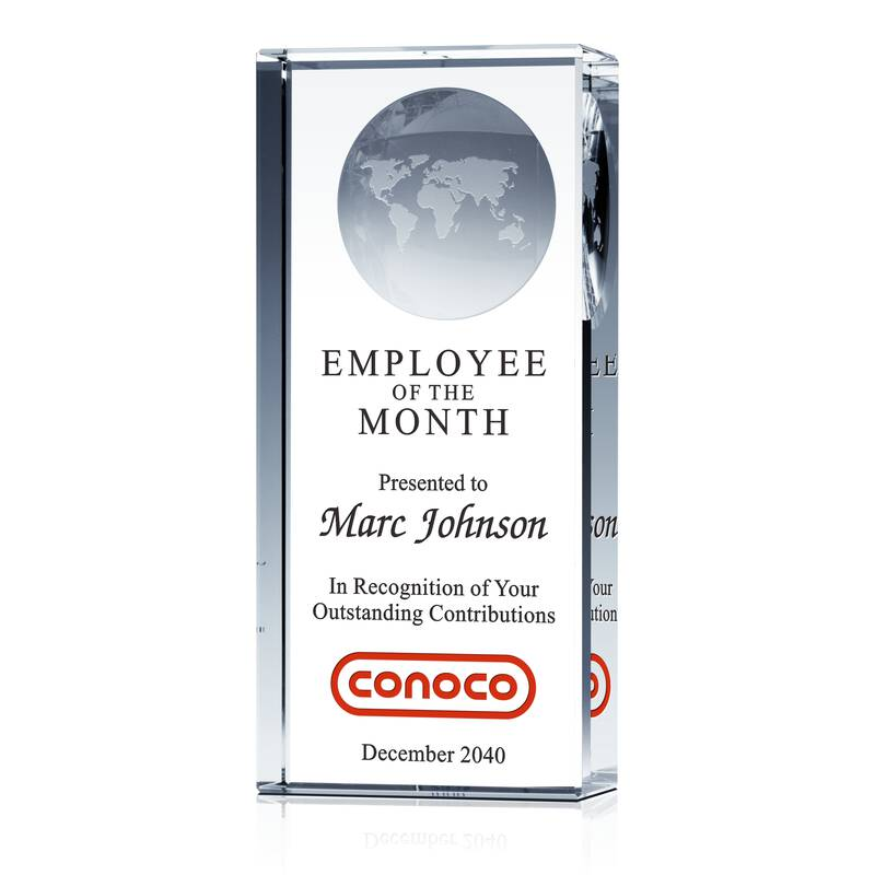 Employee of the Month Award Pillar