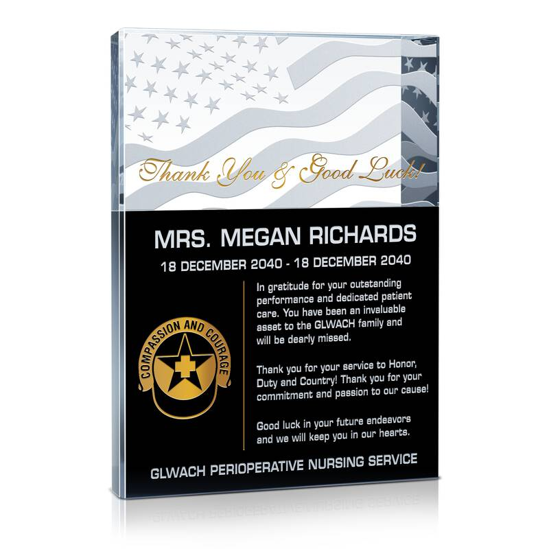 Military Nurse Thank You Gift