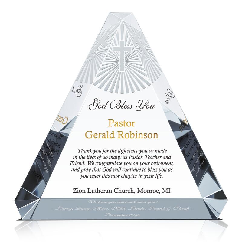 Christian Pastor Retirement Gift