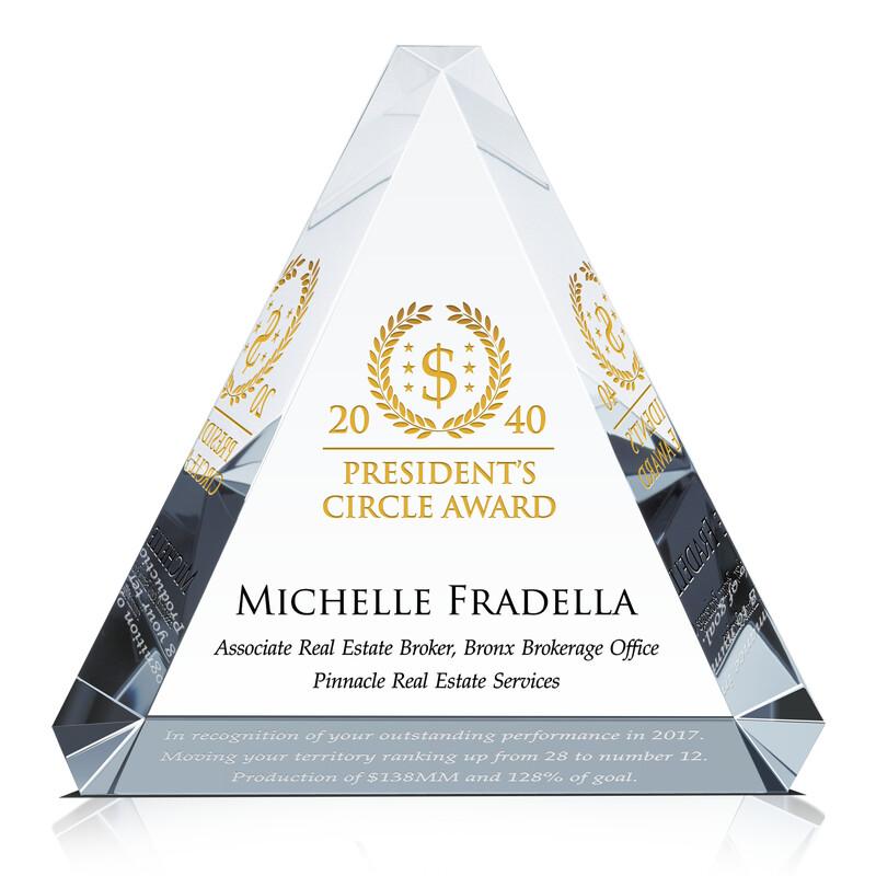 Sales Achiever's Performance Award Idea