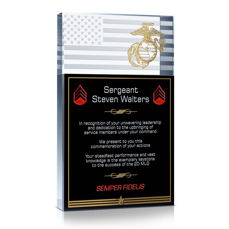 USMC Service Recognition Gift