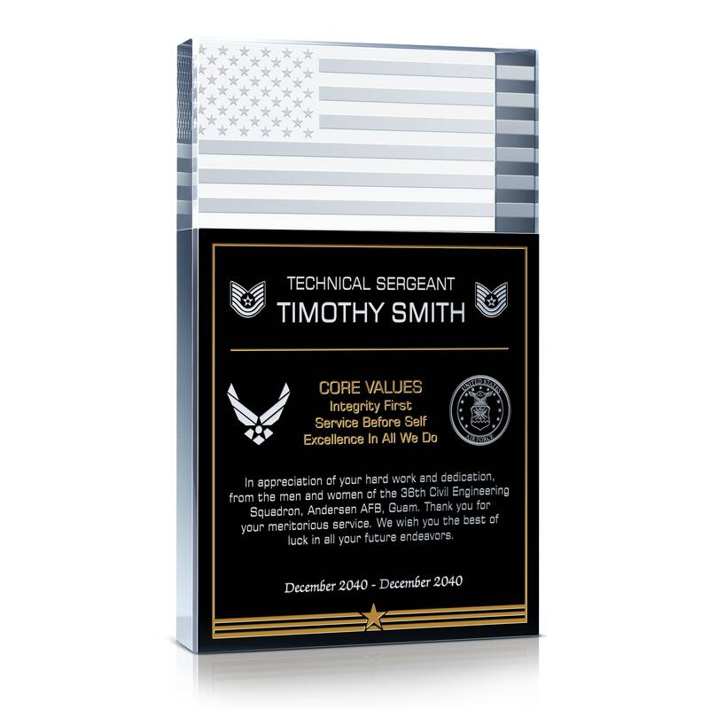 Air Force Sergeant Recognition Gift