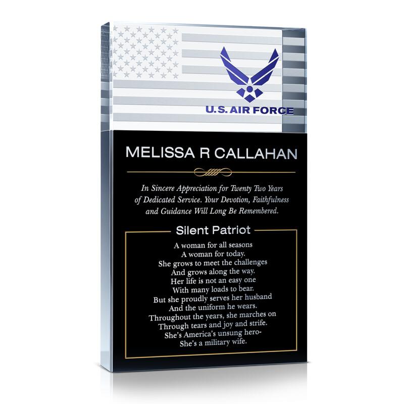 Air Force Silent Patriot Award Gift