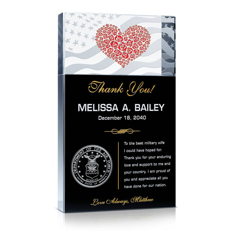 USAF Military Wife Appreciation Gift