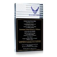 Air Force Retirement Ceremony Invitation Gift