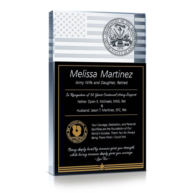 Army Wife Recognition Award