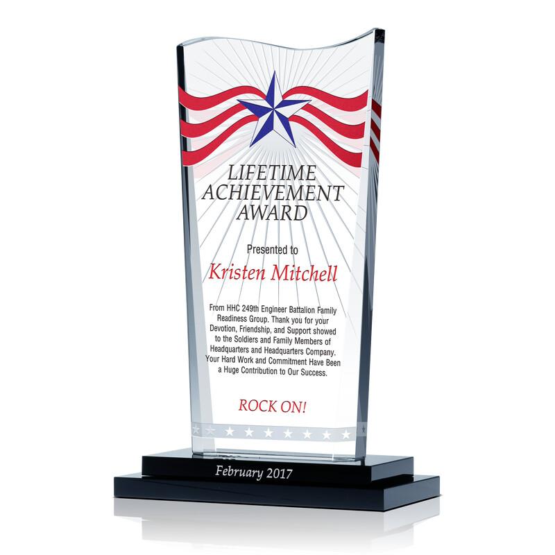 Army Lifetime Achievement Award