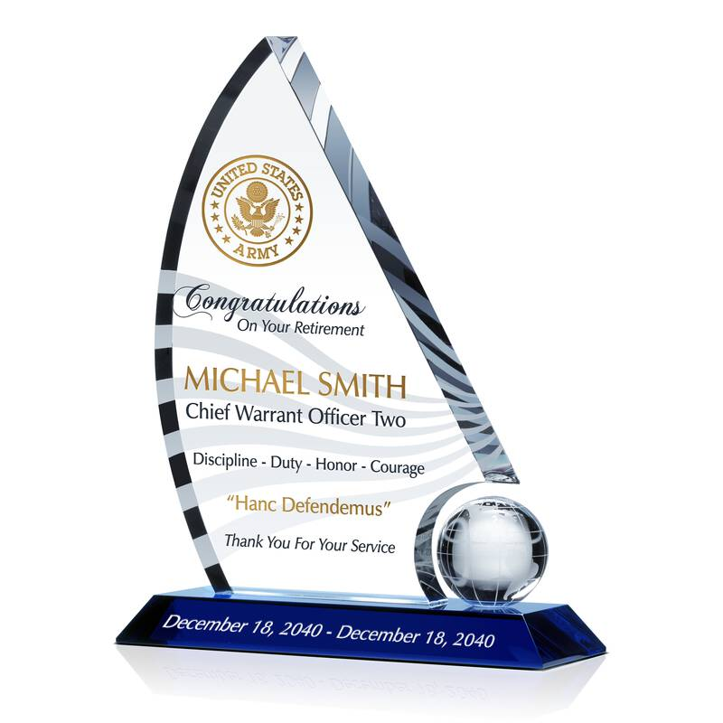 Army Chief Retirement Recognition Award
