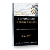 US Navy CPO Appreciation Award