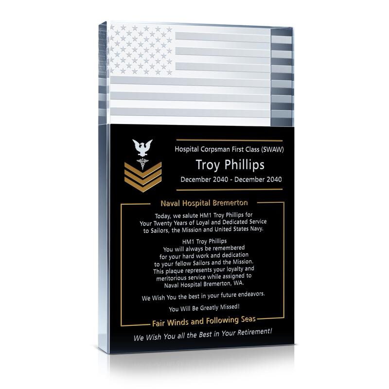 Navy Retirement Gift Wording