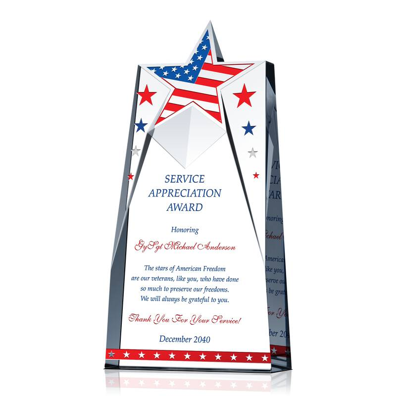 Appreciation Gift for Military Service