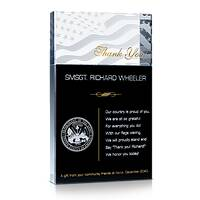 Military Thank You Plaque