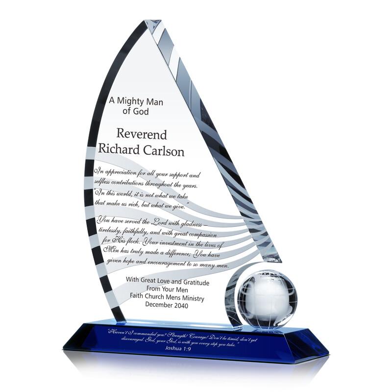 Reverend Retirement Gift from Church