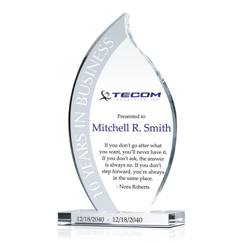 Years in Business Corporate Award