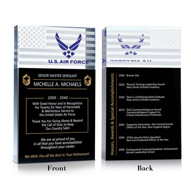 Retirement Gift for Military Career