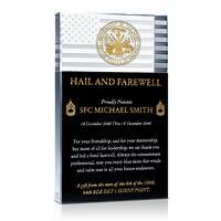 Farewell Military Retirement Gift