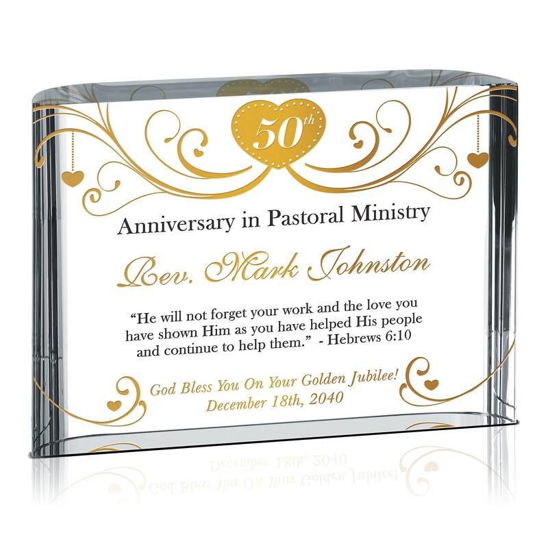 Golden Anniversary in Pastoral Ministry Gift