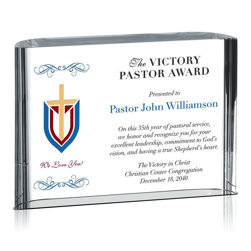 Leadership & Commitment Award for Pastor