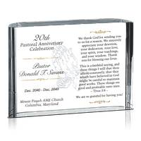 20th Pastoral Anniversary Gift Idea