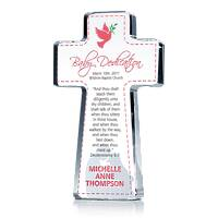 Cross Dedication Gift For Girls