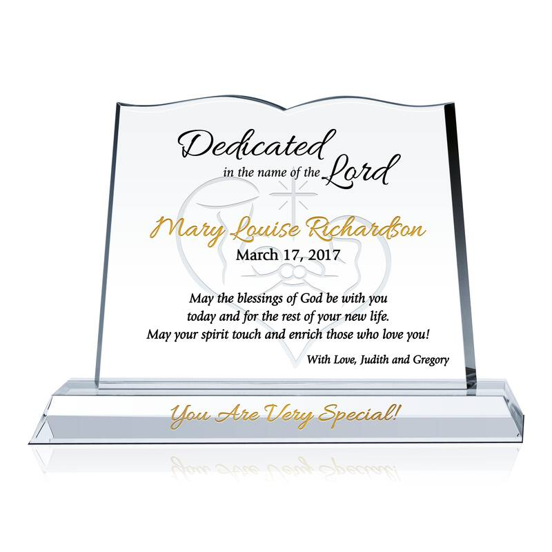 Dedication Gifts for Parents