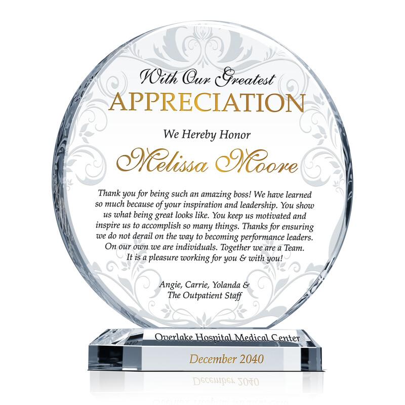 Boss Appreciation Gift Idea