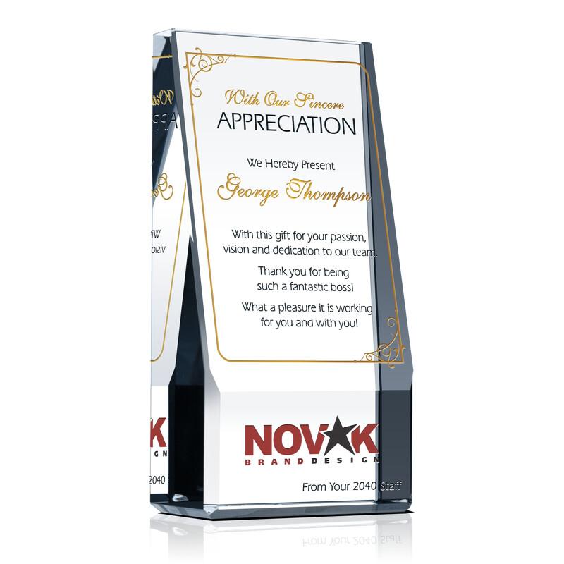 Boss Appreciation Award Idea