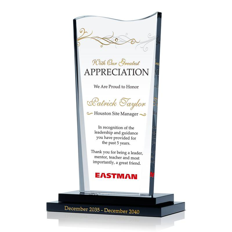 Personalized Boss Appreciation Gift Plaque