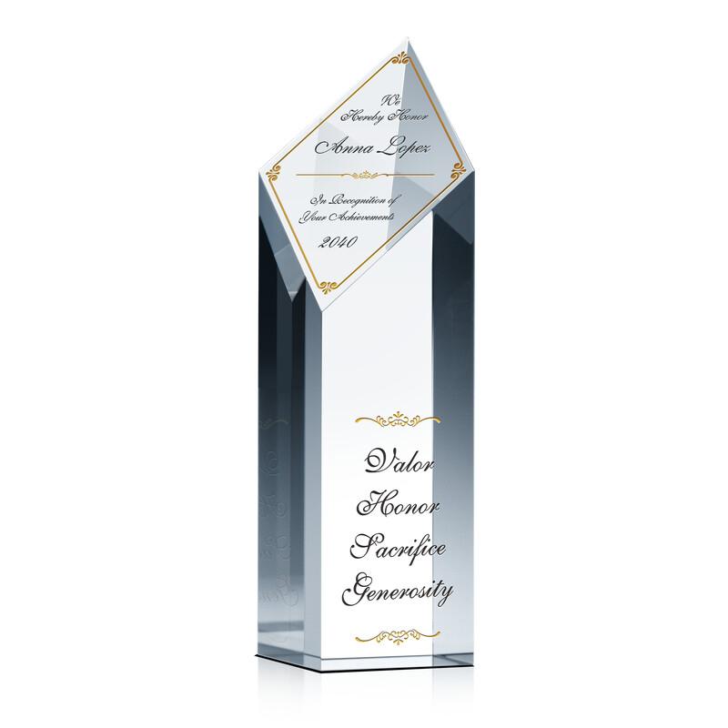 Achievement Recognition Tower Award