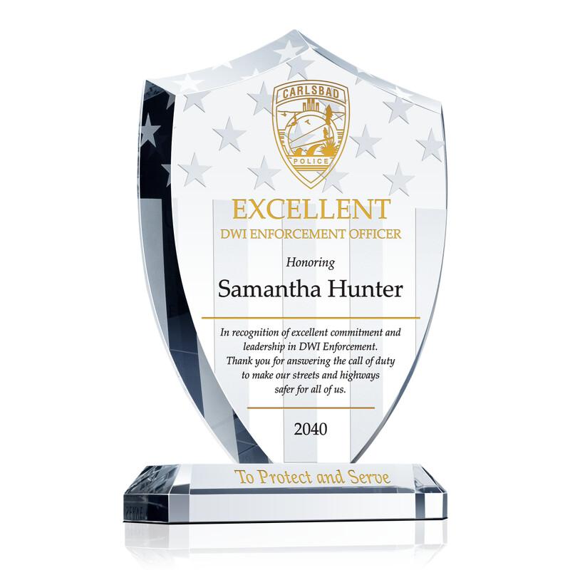 DWI Enforcement Officer Award