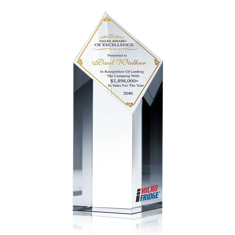 Sample Sales Award Wording Ideas