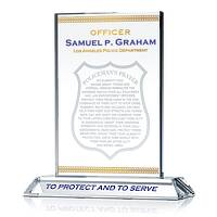 Policeman's Prayer Plaque with LAPD motto