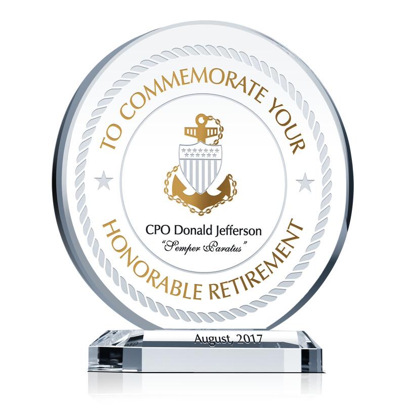 USCG Commemorative Plaque