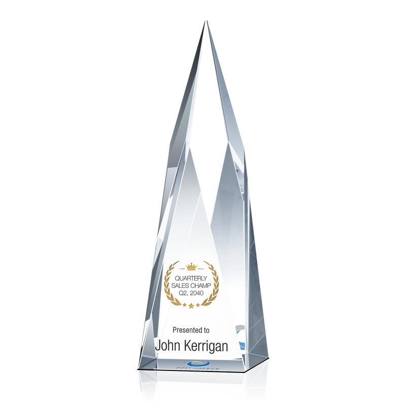 Crystal Summit Sales Champion Award Trophy