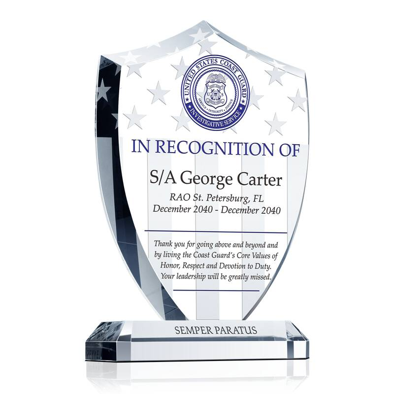 USCG Special Agent Recognition