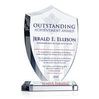 Shield Recognition Plaque