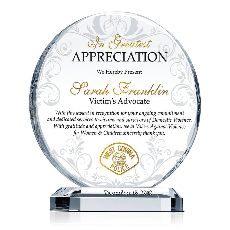 Victim's Advocate Appreciation Gift