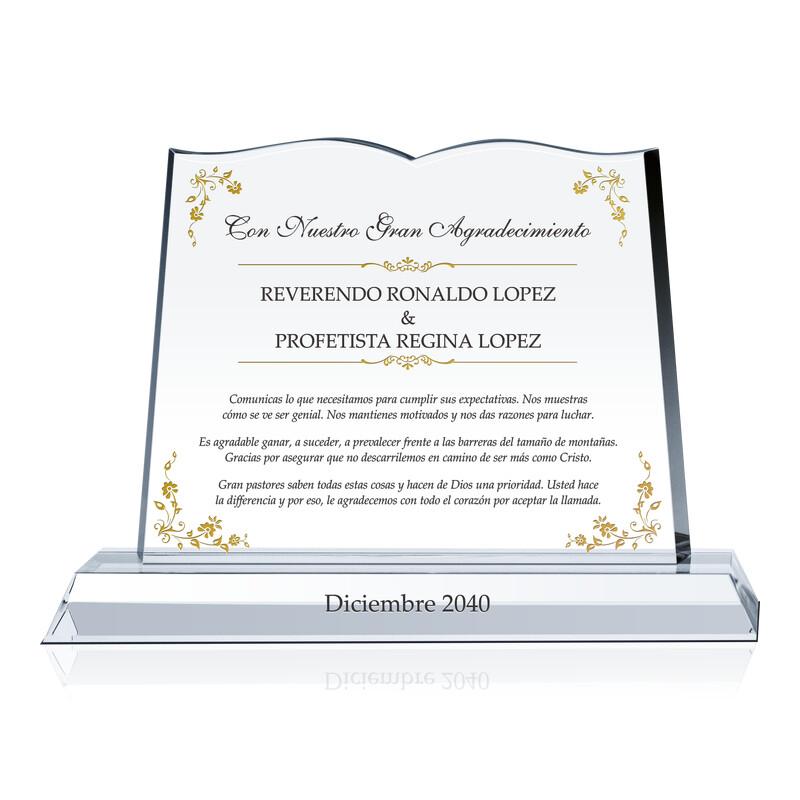 Biblia de Cristal Para Reverendo