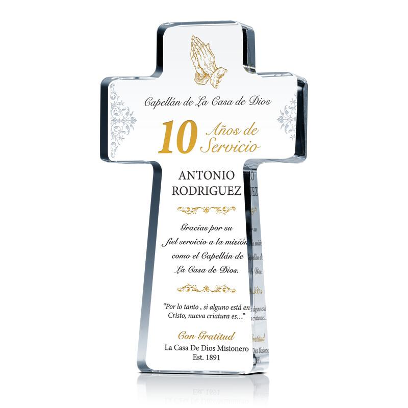 Años de Servicio Premio para Capellán