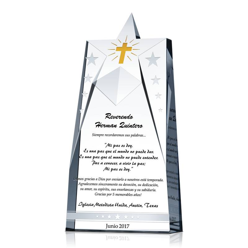 Estrella de Agradecimiento Pastoral