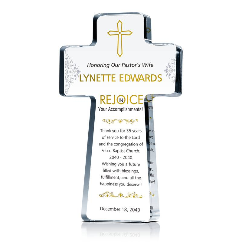 Pastor's Wife Anniversary Gift Wording