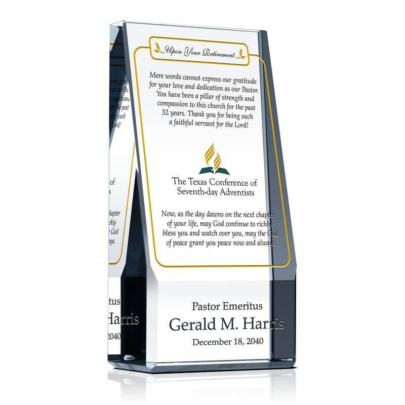 Sample Gift Ideas Honoring Pastor Emeritus