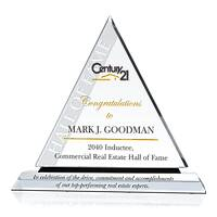 Real Estate Hall of Fame Induction Award Plaque