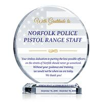 Police Graduation Gift for Instructor